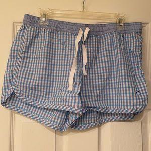 New w/o tags southern tide pajama shorts. large